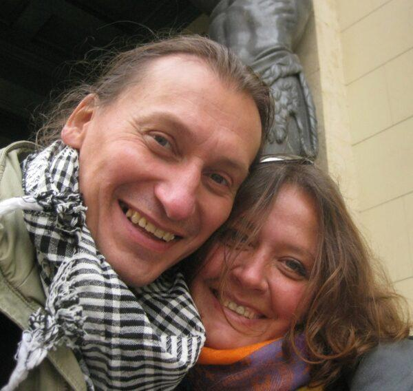 Игорь с женой